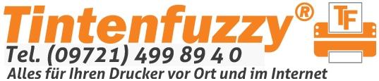 Tintenfuzzy - Ihre Druckerpatrone sofort und günstig - Tel. (09721) 499 894 - 0